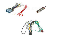 CAR WIRE HARNESS ANTENNA ADAPTER CHEVY GMC PONTIAC CADILLAC PIONEER AVH-P3100DVD