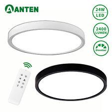 24W LED Deckenleuchte Deckenlampe Ultraslim Badleuchte Wohnzimmer Dimmbar Küche