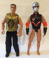 "Vintage Action Man Figures 12"" 1996 / 2000 Hasbro"