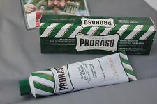 PRORASO shaving crema verde Refresh Crema da barba con eucalipso 150ml