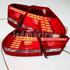 For VW Passat V6 B7 LED Tail Lamp Taillights Red Color 2011- 2014 year Red TC