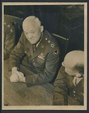 """1945 General """"Hap"""" Arnold, """"First Picture with Five Stars"""" Unique Vintage Photo"""