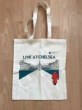 """LIVE AT CHELSEA"" COTTON TOTE BAG ROYAL CHELSEA HOSPITAL"