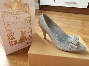 BRAND NEW IN BOX Harrods limited edition Disney Cinderella wedding shoes