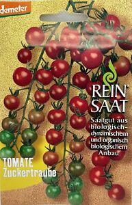 Tomate Zuckertraube - Saatgut - Samen  - Demeter - aus biologischem Anbau - Bio