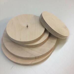 Multiplex Runde Holzscheibe Holz Rund Birke Multiplexplatte Scheibe Tischplatte