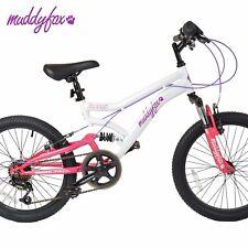 Muddy Fox ENERGY - 20inch Girls Dual Suspension Mountain Bike SHIMANO
