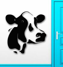 Homemade Meat Animal Cow Milk Farm Village Decor Wall Mural Vinyl Sticker (i011)