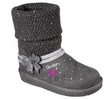 BN Girl's Skechers Twinkle Toes Light Up Boots UK Size 2 RRP £60