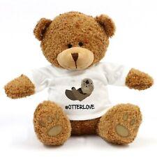Otter Love Teddy Bear - Cute Gift