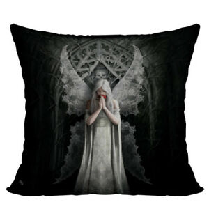 ONLY LOVE REMAINS Gothic Goth Decorative Pillow Cushion fantasy art Anne Stokes