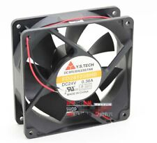 Y.S.TECH FD241238HB 12038 12cm 24V 0.36A inverter cooling fan