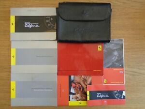 Ferrari California Owners Handbook/Manual and Pack