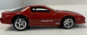 1985 CHEVROLET CAMARO IROC-Z COUPE HW 1/64 Custom Real Rider WHEELS RLC
