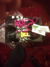 Adidas X Junior 15.3 Firm Ground Boots in Black / Mint Size 11