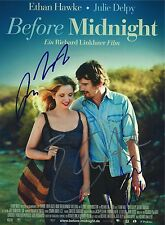 Richard Linklater, Ethan Hawke & Julie Delpy signed Before 8x10 Photo - Proof