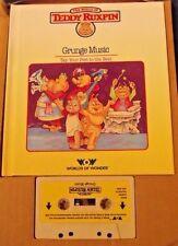 Teddy Ruxpin Grunge Music Book & Tape cassette