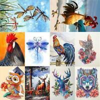 5D DIY Full Drill Diamond Painting Animal Embroidery Art Kits Bedroom Decor