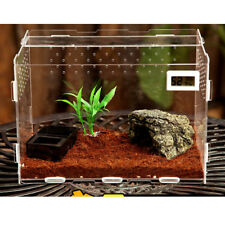 Aquatic Reptile Breeding Box Transport Case Feeding Hatching Cage Tank#1