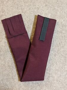 Wine/Burgundy Cordura Horse Tail Bag