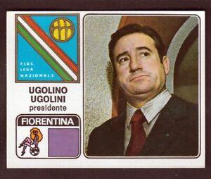 FIGURINA CALCIATORI PANINI 1972-73 SCUDETTO N. 86 FIORENTINA UGOLINI