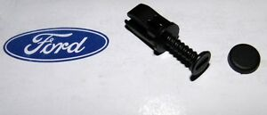 ★ NEW NOS Merkur XR4Ti Ford Sierra Cosworth Windshield Cowl Fastener Screw & Cap