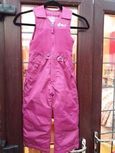 Weatherproof Kids Plum Ski Trousers/Salopettes - New Without Tags