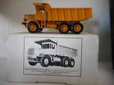 rare ISCO IC 245 R  dumper 1976 ART TECHNIQUE ET MACHINES 1 50 RESINE JAUNE + BO
