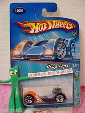 2005 #6 FE Hot Wheels FLATTERY #026/26∞Purple & Orange∞Drop Tops First Editions