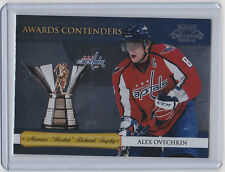 2010-11 PLAYOFF CONTENDERS ALEX OVECHKIN PANINI AWARDS #15 CAPITALS