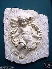 Concrete plaster angel mold Cherub religious garden casting mould