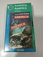America America Elia Kazan - VHS Cinta Español Nueva
