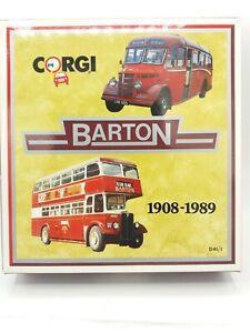 Corgi Barton Bedford OB Coach & AEC Regent Bus 1:50 D41/1 Limited Edition