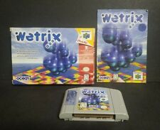 Wetrix (Nintendo 64, 1998) N64 Complete
