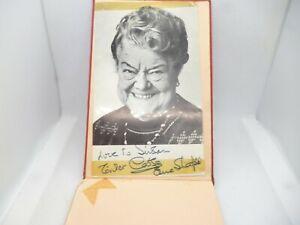 Autograph Coronation Street's Violet Carson Ena Sharples.