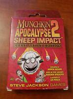 Munchkin Apocalypse 2: Guest Artist Edition (Len Peralta) Board Game New