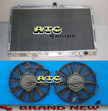 Aluminum Radiator for Mitsubishi 3000GT/GTO 1991-1999 VR-4 Spyder 3.0 Turbo &Fan