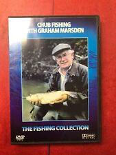 CHUB FISHING GRAHAM MARSDEN DVD - IN MINT CONDITION -