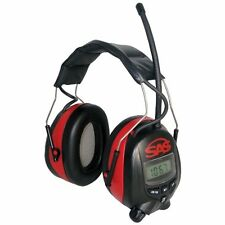 SAS Safety 6108 Digital Earmuff Hearing Protection With AM/FM Radio And MP-3