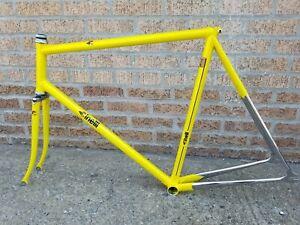 Cinelli Olympic Pista fixed gear columbus njs classic velodrome de rosa frameset