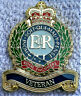 BRAND NEW BEAUTIFUL MILITARY ENAMEL BADGE ROYAL ENGINEERS VETERAN BRITISH ARMY