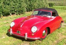 Porsche 356 pre A and A cabrio coupe carpet trim 2 piece set