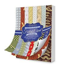 Hunkydory ESSENTIAL BOOK OF FOILED CARD for THE MEN EBK110 40 x 350gsm