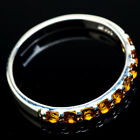 Citrine 925 Sterling Silver Ring Size 11 Ana Co Jewelry R21494