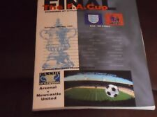 Littlewoods F.A. Cup Final  Arsenal V Newcastle United 1998