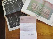 Official Letter Fm: ARCH MOORE Jr. WV Gov. Re: MARSHALL University PLANE CRASH