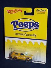 Hot Wheels Pop Culture Just Born Peeps Custom '69 Volkswagen Squareback w/ RRs