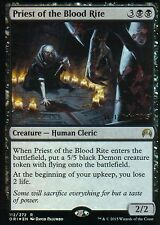 Priest of the Blood Rite foil | nm | versiones preliminares promos | Magic mtg