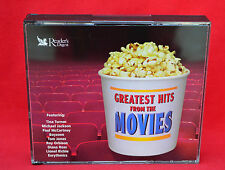 READERS DIGEST:  GREATEST HITS FROM THE MOVIES!  5 DISC SET!!  FREE P & P!!
