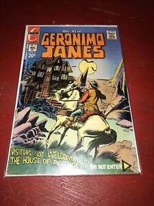 Geronimo Jones Vol. 2 No. 7 Carlton Comic August 1972